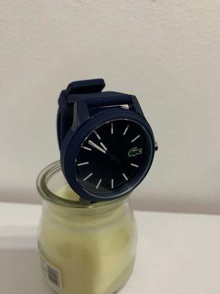 Reloj Lacoste 12.12 correa silicona nuevo