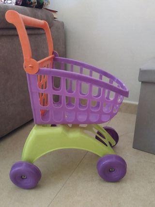Carro de la compra infantil