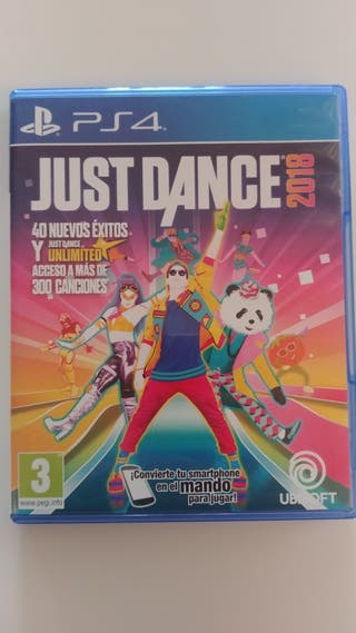Juego PS4 Just dance 2018