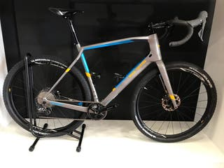 Bicicleta gravel carbono talla xl