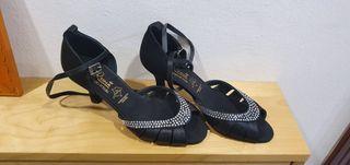 zapatos de baile de salón zapateria Reina