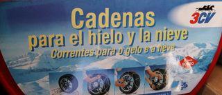 Cadenas Nieve 3CV Grupo 7