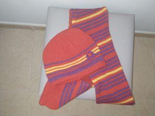 bufanda y gorro infantil