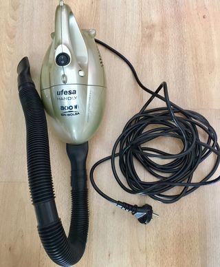 Mini Aspirador eléctrico sin bolsa portatil Ufesa