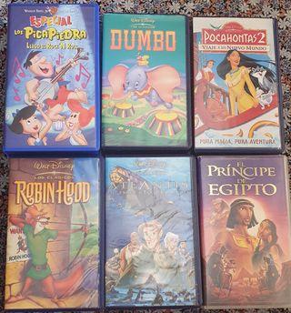 Películas VHS Disney