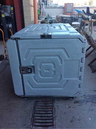 Contenedor refrigerado movil