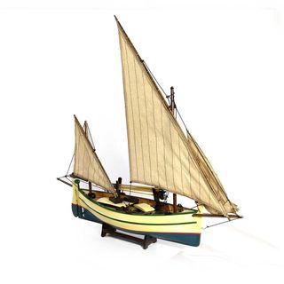 Barco Velero Maqueta Madera