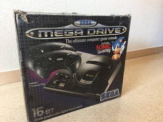 Sega Mega Drive 16bits 1990