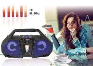 Altavoz Bluetooth con función karaoke Radio Usb mi