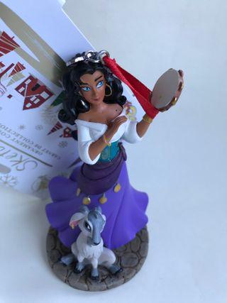 figura adorno navideño Esmeralda Disney