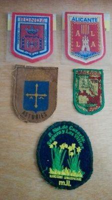 Insignias Scout. Nuevas. Varias