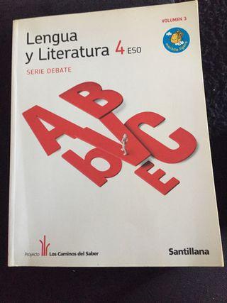 Libro de lengua y literatura 4ESO volumen3
