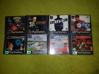 Videojuegos de Playstation 1