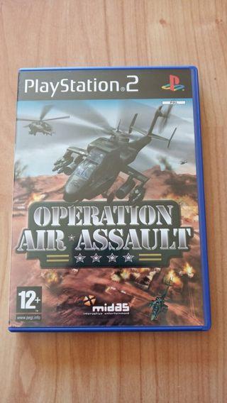 2juegos combate aereo play station 2