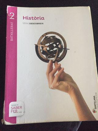 Libro història 2batxillerat en súper buen estado