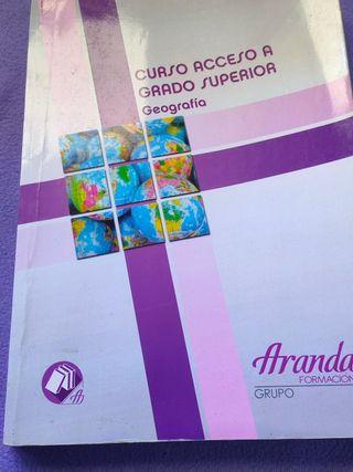 libro geografía grado superior