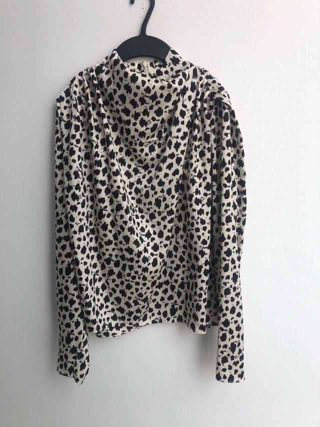 Camisa estampada ZARA WOMAN talla S