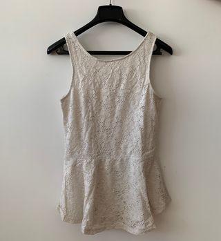 Camiseta blanca de H&M