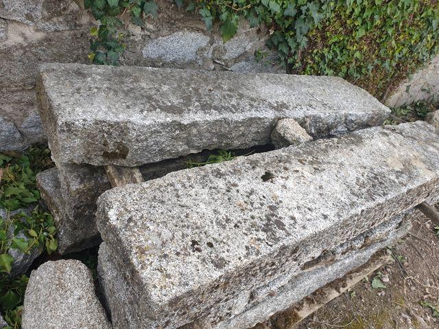 escalones de piedra