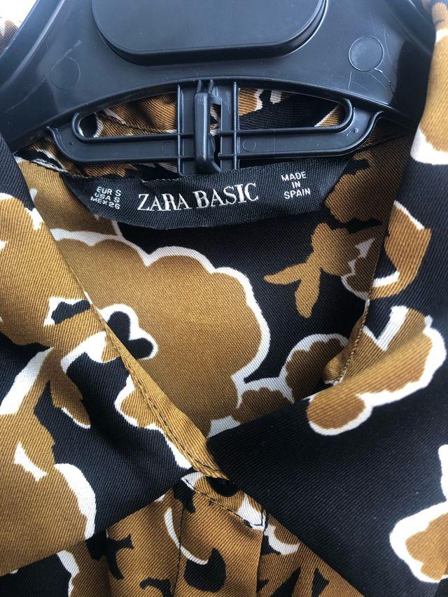 Camisa ZARA BASIC talla s