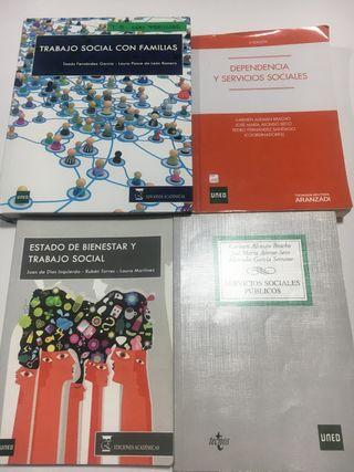 Libros de Trabajo Social Uned
