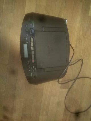cd radio cassette corder sony (con cable)