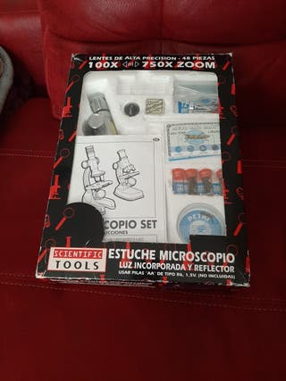 MICROSCOPIO SET 100X-750X ZOOM