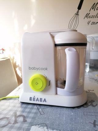 babycook beaba(poco uso, prácticamente nueva)