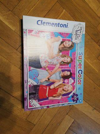 Puzzle violeta Clementoni