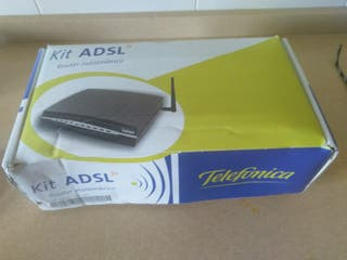Kit ADSL Router inalambrico Telefónica