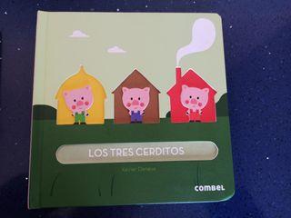 Libro infantil Los tres cerditos