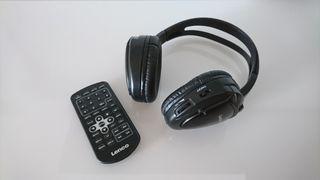 Lenco DVP-937 Auricales y mando
