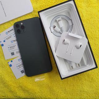 IPHONE 11 PRO MAX 64GB MEDIA NOCHE VERDE SEMINUEVO