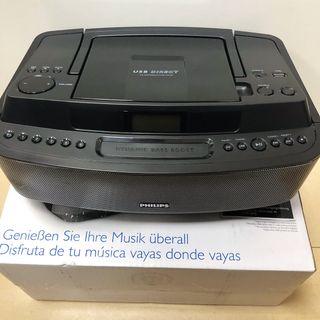 Reproductor de radio y CD portátil PHILIPS