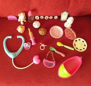 accesorios para muñecos