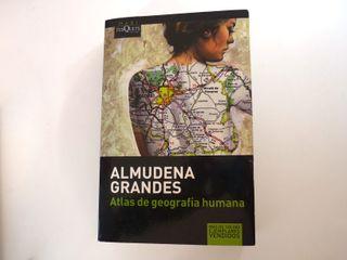 """Libro """"Atlas de geografía humana""""-Almudena Grandes"""