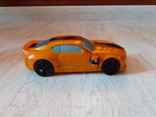 transformes coche amarillo