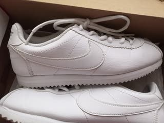 Nike classic cortez blancas