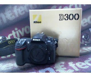 Camara De Fotos Reflex Digital Nikon D300