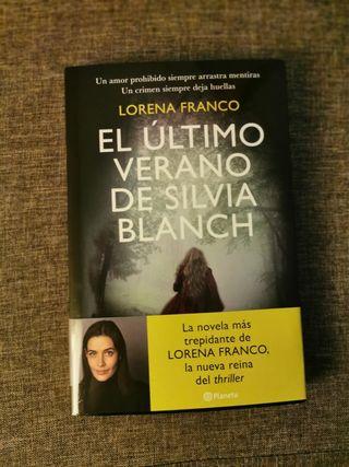 """Libro """"El último verano de Silvia Blanch"""""""