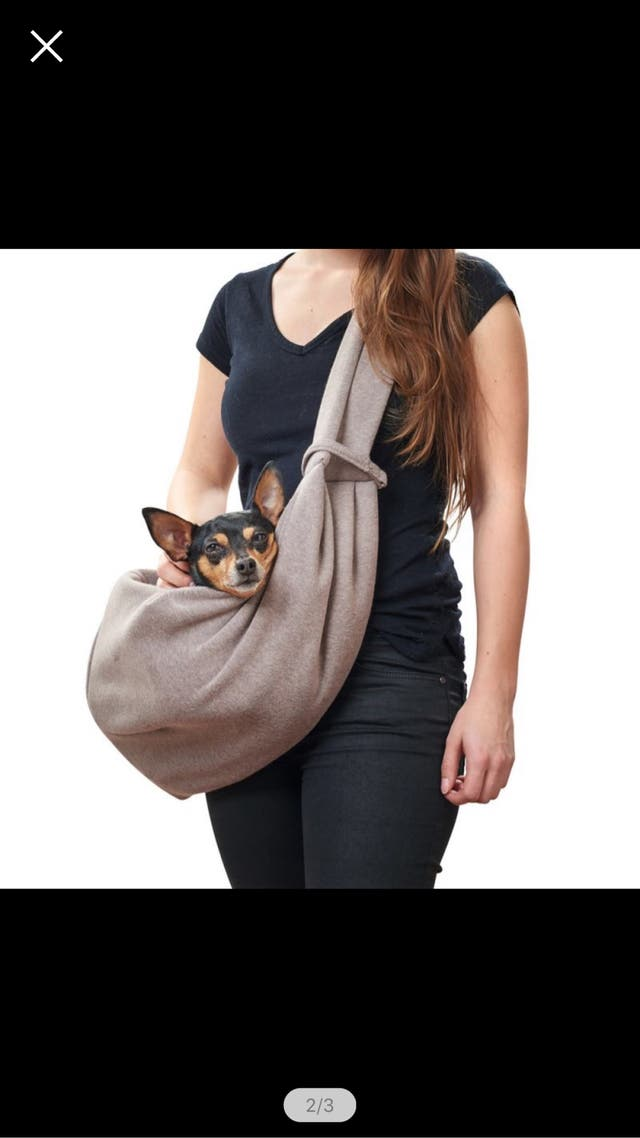 Bolso transporte Hunter Los Angeles perros/gatos