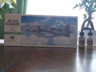 Maqueta Avión Harrier AV-8A 1/72