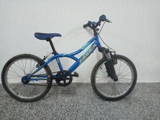 Bicicleta ORBEA azul de niño