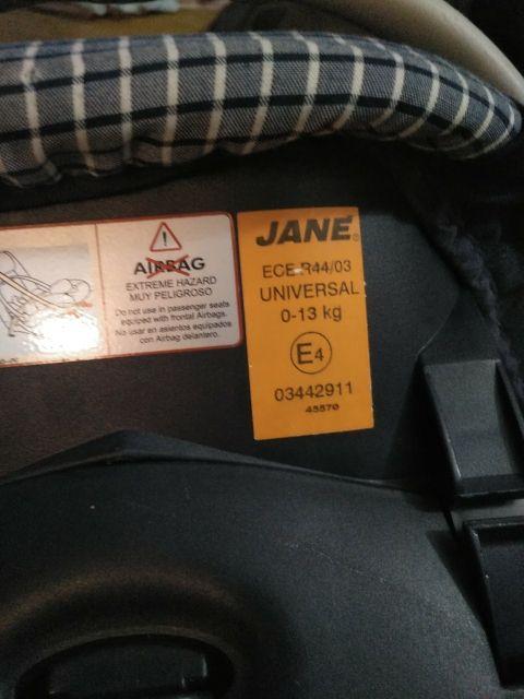 Silla coche/maxicoxi Jane