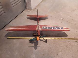 avion rc antiguo