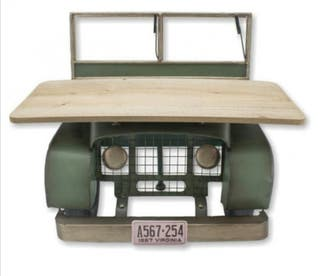 Estantería coche jeep