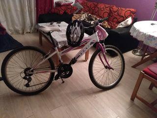 Bicicleta+2 cascos