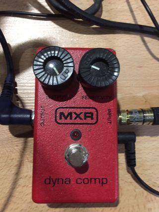 Pedal compresor guitarra mxr