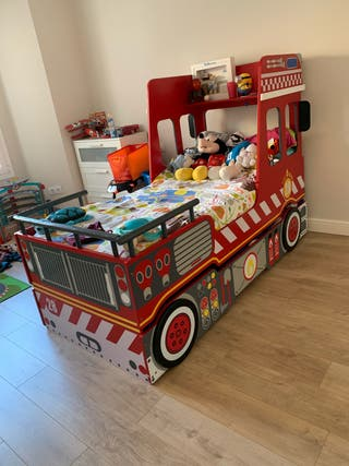 Cama nido bombero / firetruck nest bed