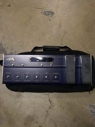 VOX guitarra pedalas